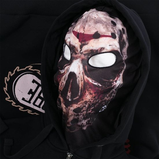 100% Hardcore Hooded Zipper Mask Massacre