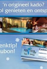 Aquatron Sauna Bon Wellness pakket voor 2