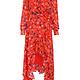 Guadalupe silk wrap dress