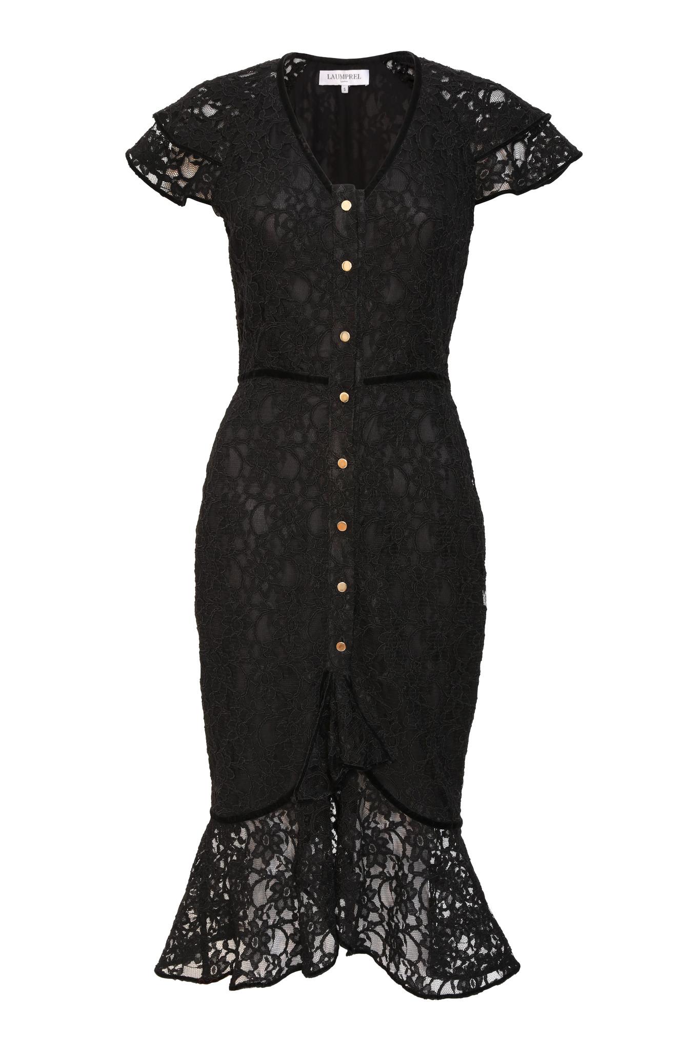Carlota guipure dress