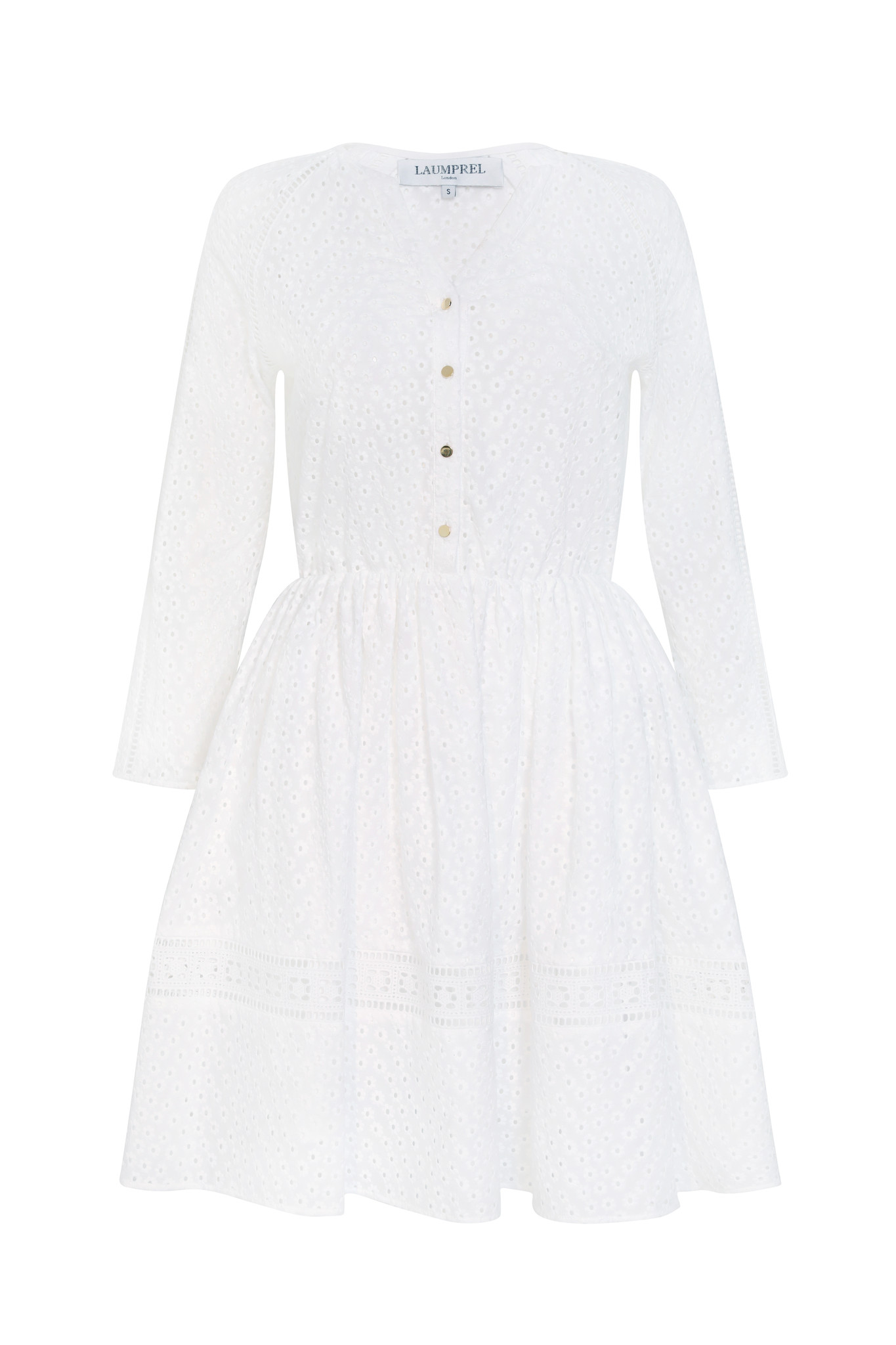 Carla broderie Anglaise cotton dress