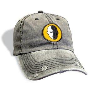 HeadBlade Distressed baseball cap Grau