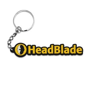 HeadBlade HB Rubber sleutelhanger