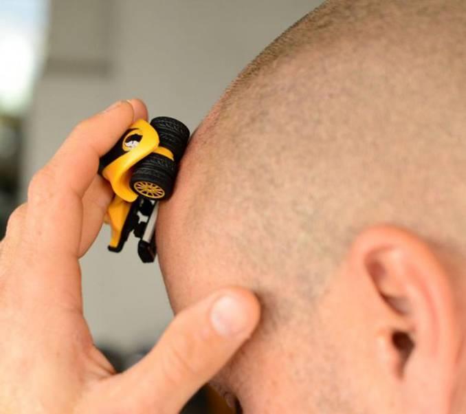 Hoe moet je scheren met de HeadBlade?