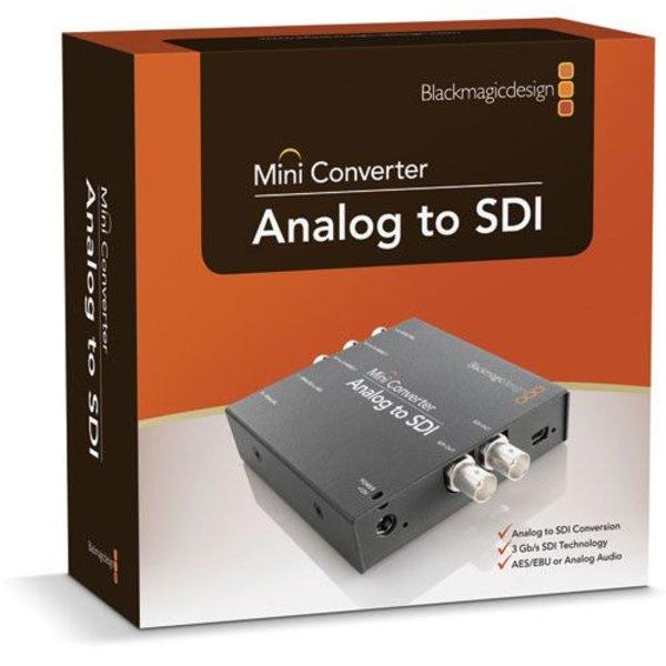 Blackmagic Design Blackmagic Design Mini Converter Analog to SDI