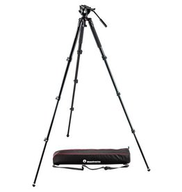Manfrotto Manfrotto MVK500AQ  Video Tripod & MVH500A Fluid Head