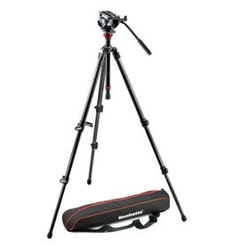 Manfrotto Manfrotto MVH500AH Fluid Head & 755CX3 MagFibre Tripod