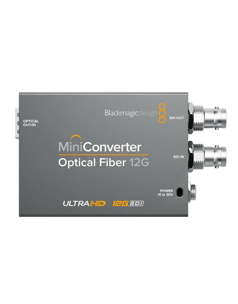 Blackmagic Design Blackmagic Design Mini Converter Optical Fiber 12G