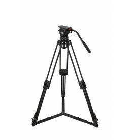 Camgear Camgear DV6P Aluminum Tripod System with Ground Spreader