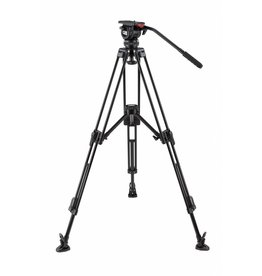 Camgear Camgear DV6P Aluminum Tripod System with Mid-level Spreader