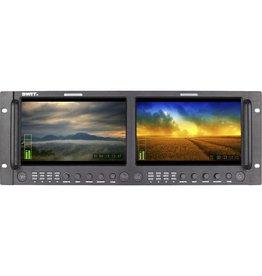 Swit M-1092H Dual 9-inch Full HD SDI/HDMI Rack LCD Monitor