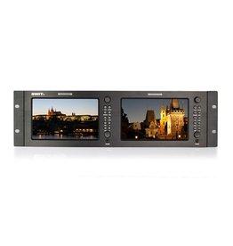 "Swit SWIT M-1071H 7""x2 3GSDI LCD monitor, 19""rack"