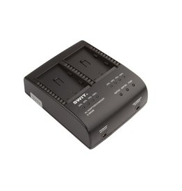 Swit SWIT S-3602M 2-ch SONY NP-QM Charger and Adaptor