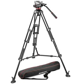 Manfrotto Manfrotto MVH502A Fluid Head & 546B Tripod Kit