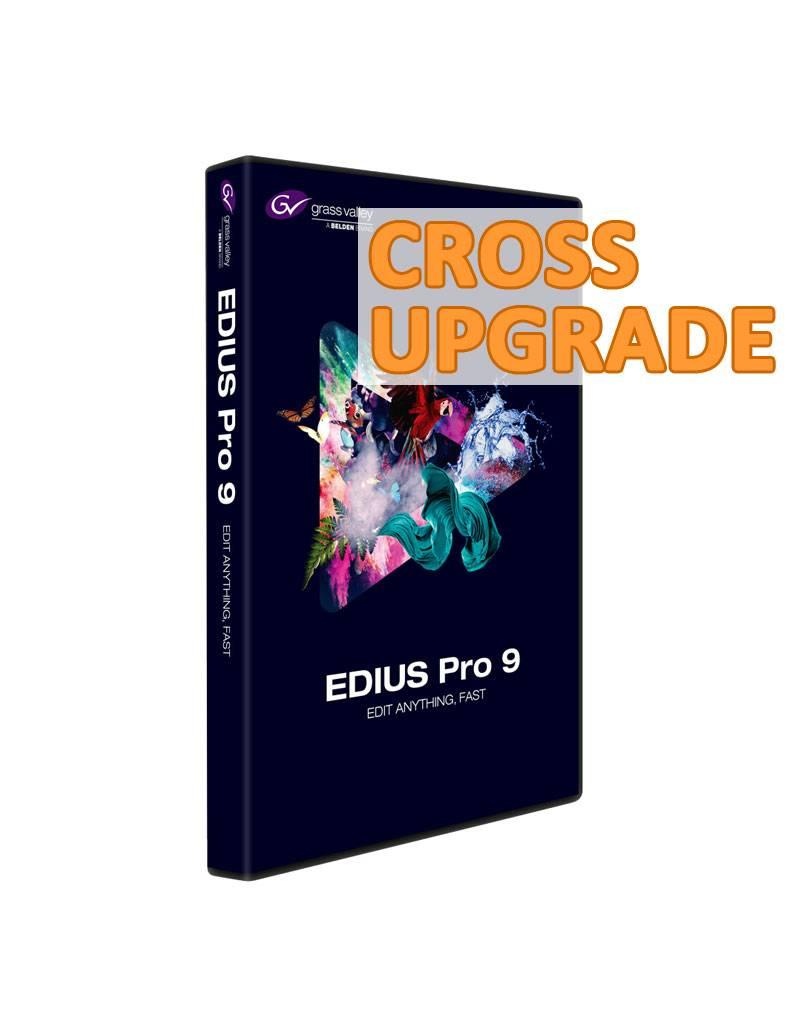 Grass Valley Grass Valley EDIUS Pro 9 Jump 2 Upgrade (Crossgrade)