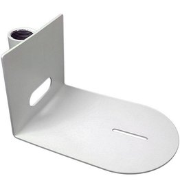 """PTZ Optics Universal Small Ceiling Mount for use with 1"""" Pipe Attachment (White)"""