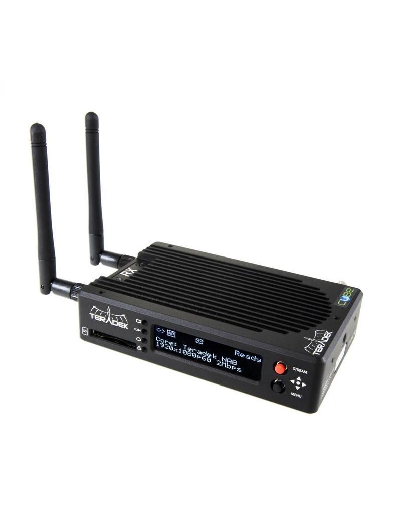 Teradek TERADEK Cube 775 - HEVC/AVC (H.265/H.264) Decoder SDI/HDMI GbE WiFi