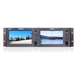 Swit SWIT - M-1073H Dual 7-inch FHD Rack LCD Monitor