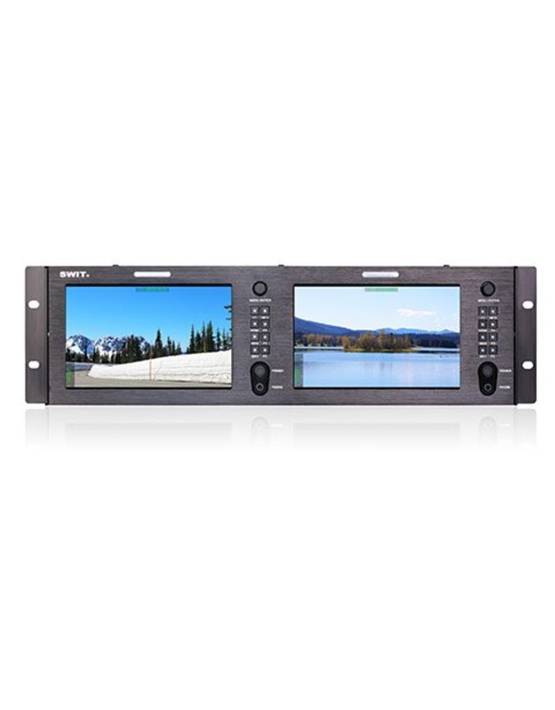 Swit SWIT - M-1073H Dual 7-inch FHD Rack LCD Monitor