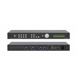KRAMER KRAMER - VS-44DT 4x4 4K60 4:2:0 HDMI/HDBaseT Extended–Reach PoE Matrix Switcher