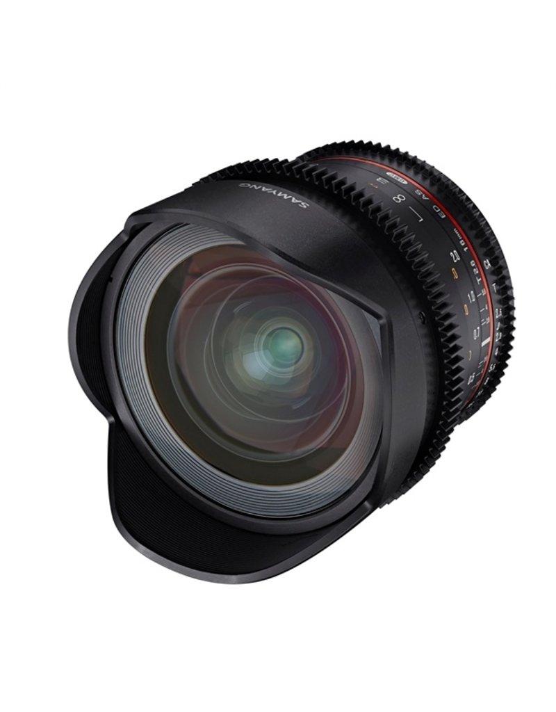 Samyang 16mm T2.6 VDSLR ED AS UMC