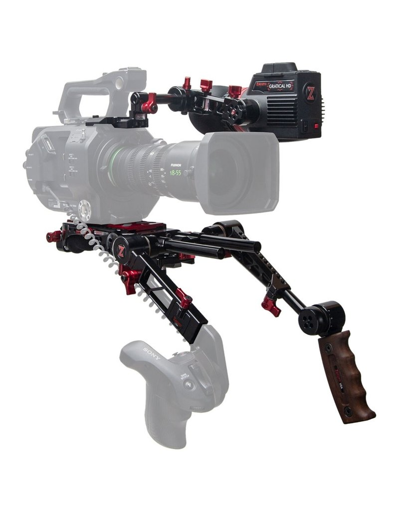 Zacuto Sony FS7 II with Dual Grips - Gratical HD Bundle