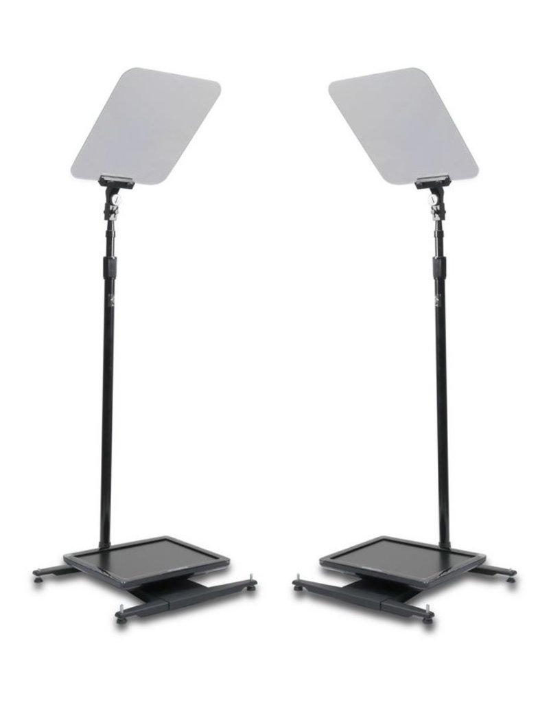 """Prompter People Prompter People StagePro Presidential Pair 15""""- 24"""" - High Bright"""
