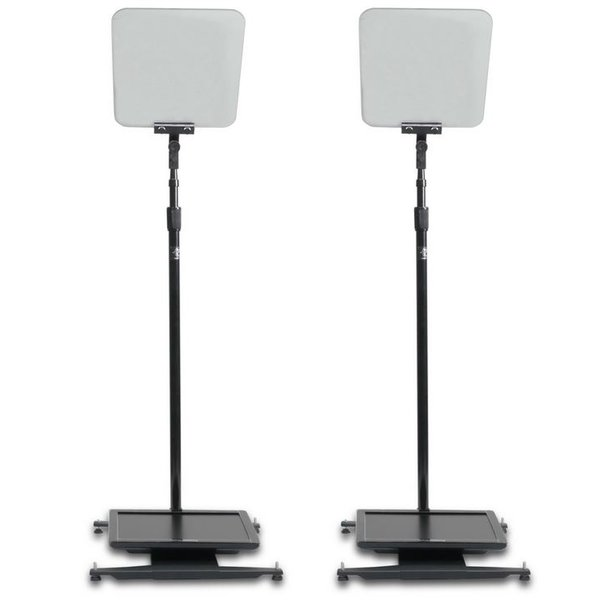 "Prompter People Prompter People StagePro Presidential Pair 15""- 24"" - High Bright"