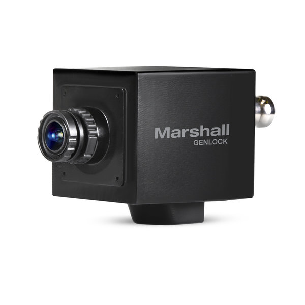 Marshall Electronics Marshall CV565-MGB - 2.5MP 3G/HD-SDI/HDSDI/HDMI Full-HD Miniature GENLOCK POV Camera with interchangeable 3.7mm HD Lens