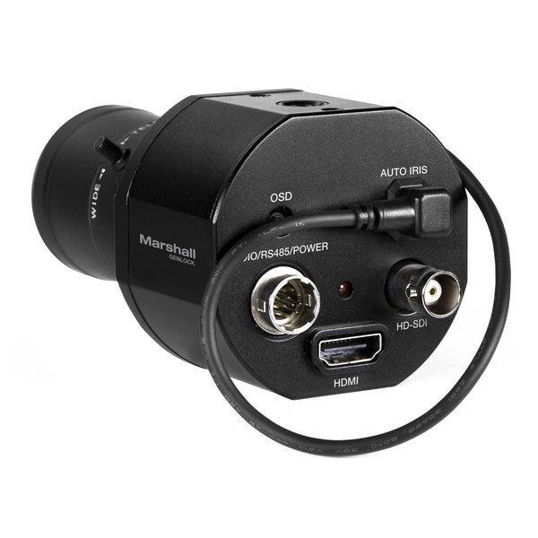Marshall Electronics Marshall CV365-CGB - Full-HD (3G/HD-SDI & HDMI) 2.5MP Compact GENLOCK Camera with AUDIO + HDMI