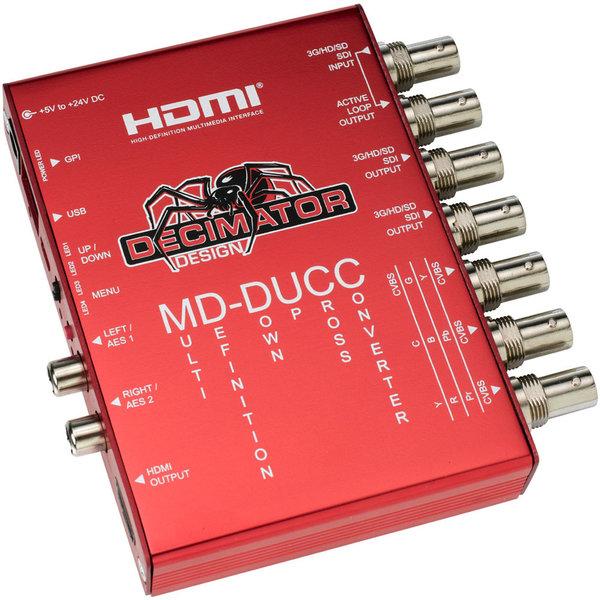 Decimator Design MD-DUCC - Multi-Definition UpDownCross Converter