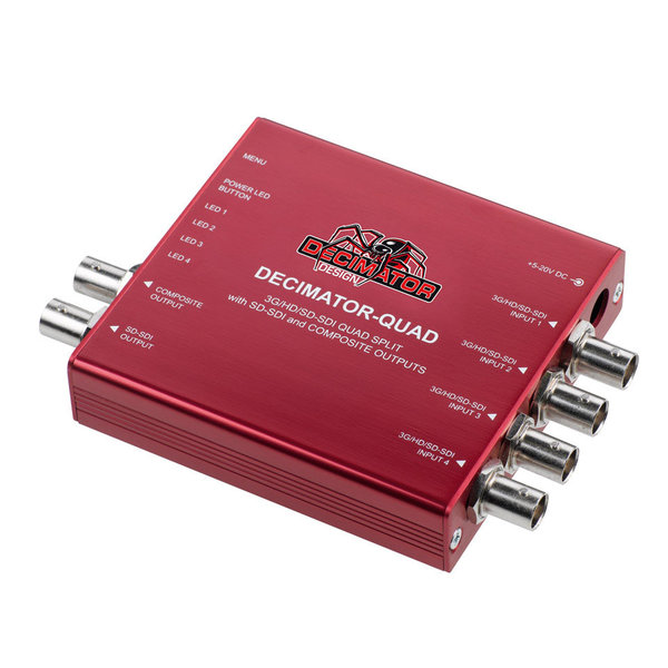 Decimator Design DECIMATOR-QUAD - SDI/Composite Quad Split MultiViewer