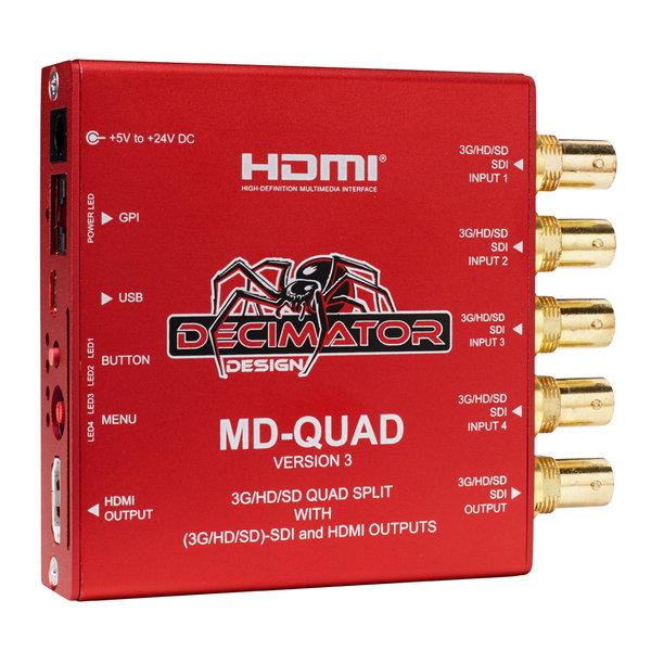 Decimator Design Decimator Design MD-QUAD
