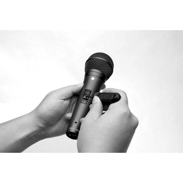 RODE RODE - RODE M1-Switch - Live Performance Dynamic Microphone with Lockable Switch