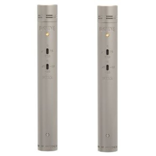 "RODE RODE - RODE NT55-matched pair - Multi-Pattern 1/2"" Condenser Microphones"