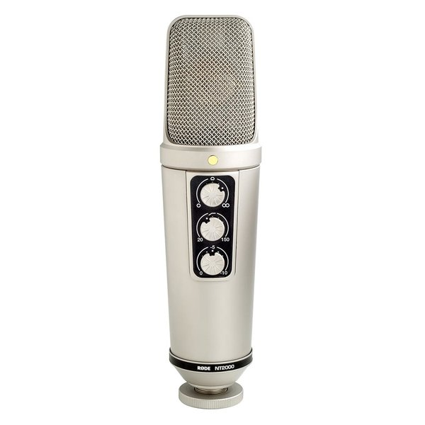 """RODE RODE - RODE NT2000 - Seamlessly Variable Dual 1"""" Condenser Microphone"""