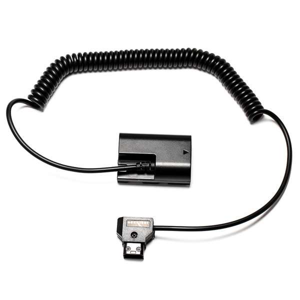 Indi Pro INDIPRO - COILED D-TAP TO CANON LP-E6 TYPE DUMMY BATTERY