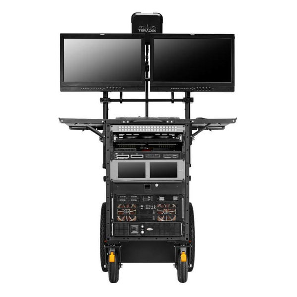 INOVATIV INOVATIV - DEPLOY GEN IV - Vertical workstation with Insight Monitor Mounts