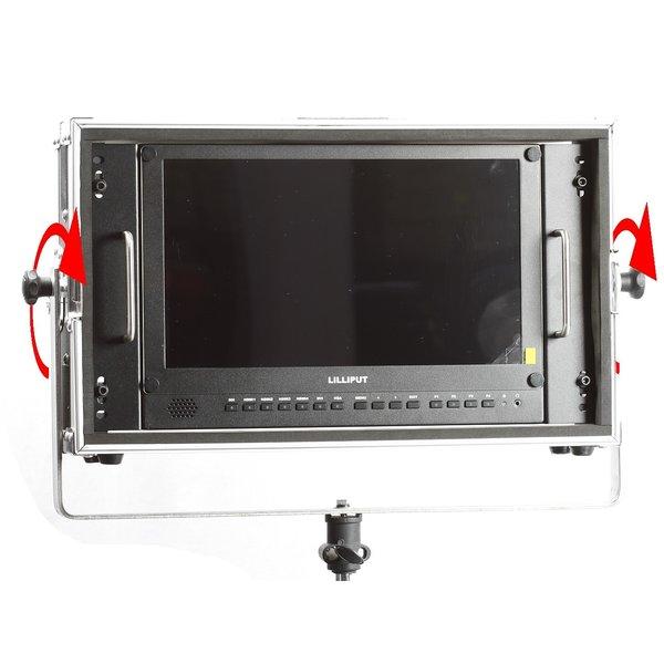 Liliput LILIPUT - Lilliput 15.6 Inch 4K HDR Monitor with Swing Frame for Light Stand BM150-4KS-LP