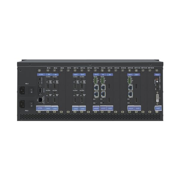 KRAMER - VS-1616DN-EM 2x2 to 16x16 Modular 4K60 4:2:0 Multi–Format Managed Digital Matrix Switcher