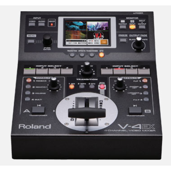 Roland ROLAND - V-4EX 4-Channel Digital Video Mixer with Effects