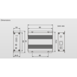 Roland ROLAND - HT-TX01 HDBaseT Transmitter