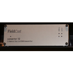 Fieldcast FieldCast Converter 12 2Core - Two channel HDMI to fiber transmitter converter