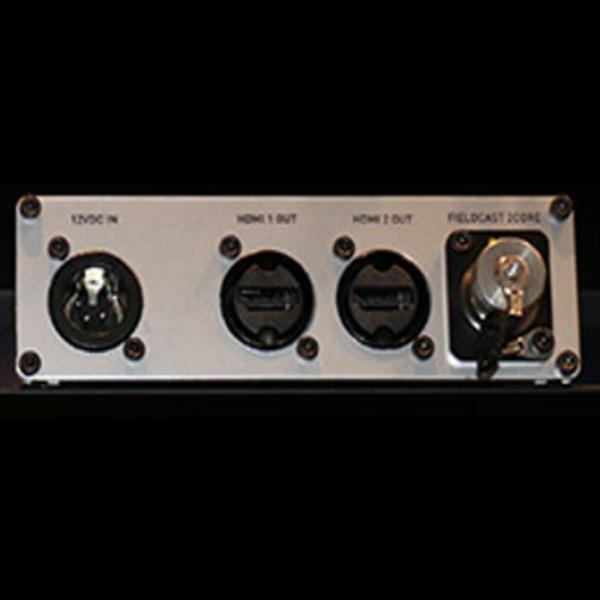 Fieldcast FieldCast Converter 12 Hybrid - Two channel HDMI to fiber transmitter converter
