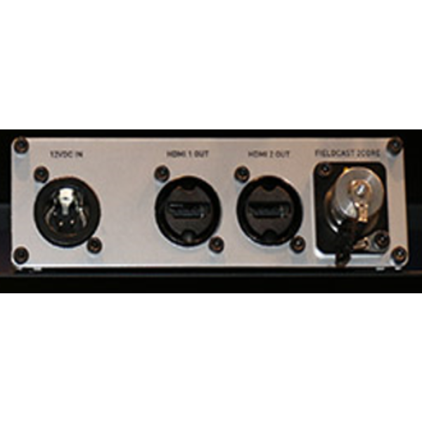 Fieldcast FieldCast Converter 12 OpticalCON - Two channel HDMI to fiber transmitter converter