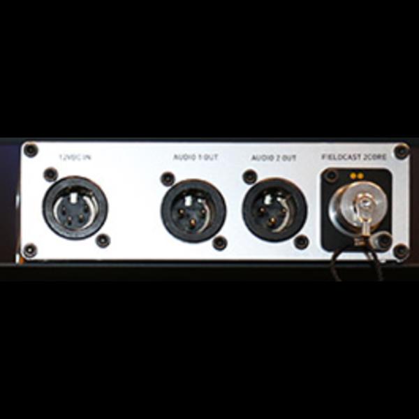 Fieldcast FieldCast Converter 16 – Two channel analog audio to fiber adapter