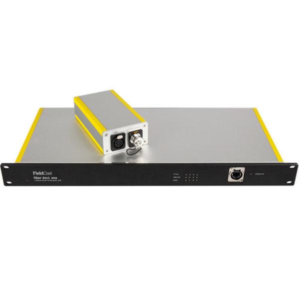 Fieldcast FieldCast Fiber Dock System One - for 4 PTZ Cameras