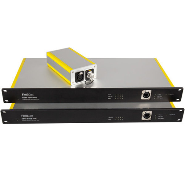 Fieldcast FieldCast Fiber Node System One - for 4 PTZ Cameras