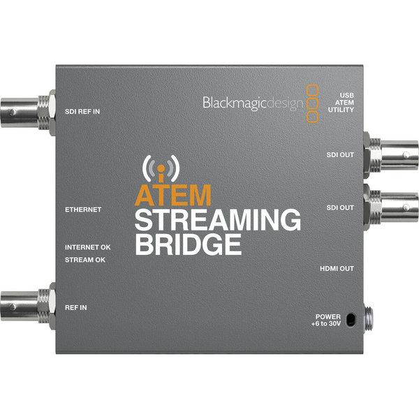 Blackmagic Design Blackmagic Design ATEM Streaming Bridge