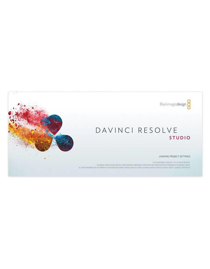 Blackmagic Design Blackmagic Design DaVinci Resolve Studio Software - actuele versie
